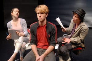 SMU Meadows Theatre 'Chat Room' rehearsal photo
