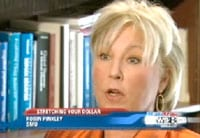 Robin Pinkley on WFAA-TV News