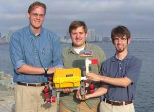 SMU Robotics Club with Seahorse submersible