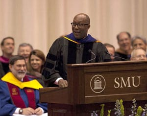 Ron Kirk at SMU's 2010 Commencement