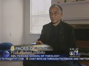 Ruben Habito on CBS 11 News