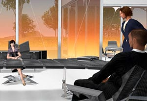 Virtual workplace in Second Life
