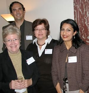 Shilpi Somaya Gowda at SMU's 2007 New York Seminar for writers