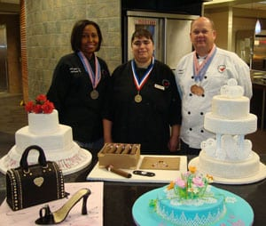 SMU Bakery Team winners from the 2009 Ben E. Keith Food Show