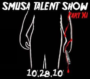 SMUSA Talent Show 2010 logo