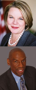 Margaret Spellings and Geoffrey Canada