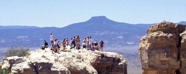 Taos, New Mexico mountaintop