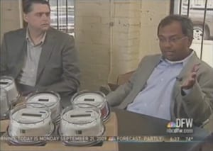 Mitch Thornton and Suku Nair on NBC 5 News