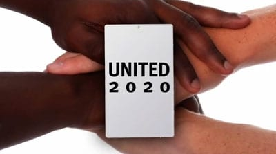 United 2020 graphic