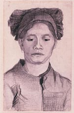 Vincent Van Gogh, 'Head of a Peasant Woman'