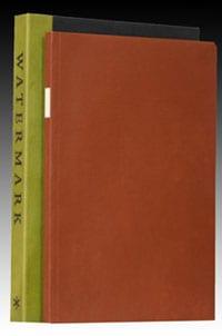 'Watermark' by Joseph Brodsky, printed by Peter Koch
