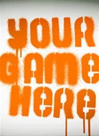 'Your Game Here' logo