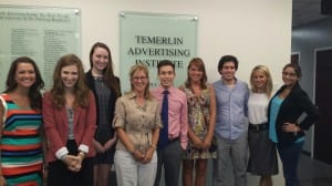 Terri Bauer with 2014 Cohort