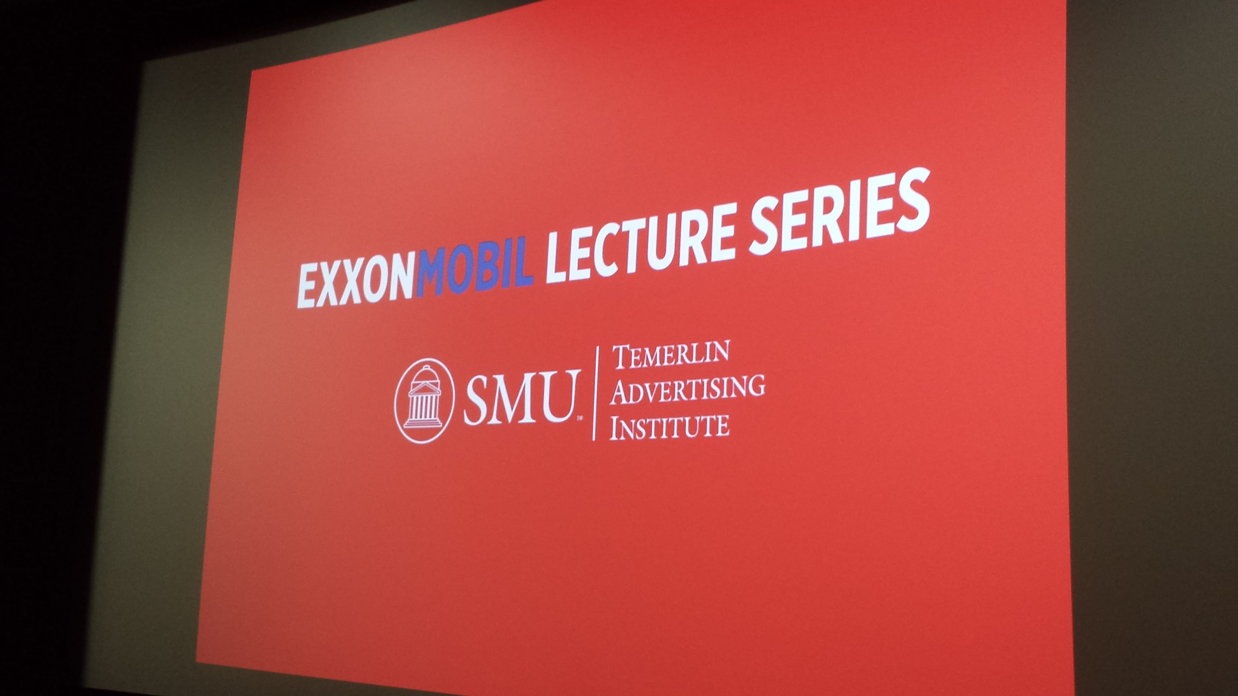 ExxonMobil Lecture Series