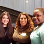 Kelly, Alexandra and AdeDoyin-Graduates of TAI's MA in Advertising Program