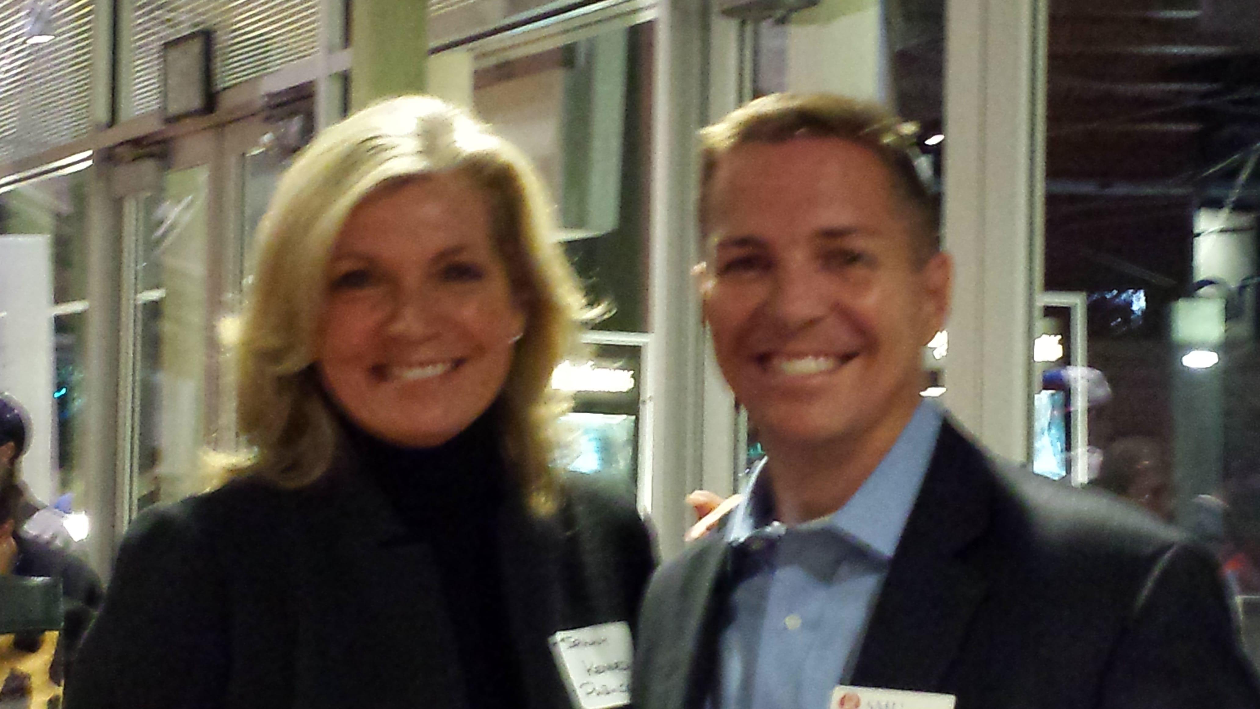 Sally Kennedy and Steve Edwards
