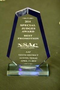 2014 SMU NSAC Award