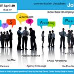 2014 Communications Discipline Job Fair