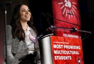Lopez at MPMS awards.