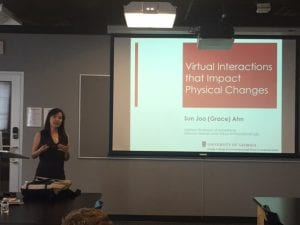 TAI Hosts Visiting Scholar Dr. Grace Ahn for Lecture on Virtual Interactions