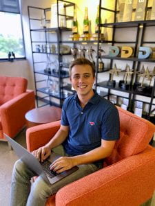 Noble Farr, SMU Graduate Student in Advertising