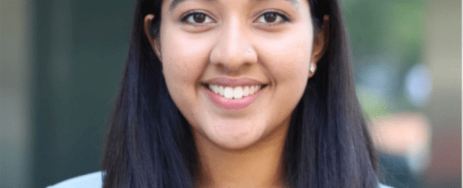 Varsha Appaji, undergraduate research analyst