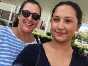 Gonzales and her mother supported local businesses together