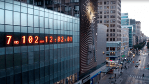 Climate Clock NYC