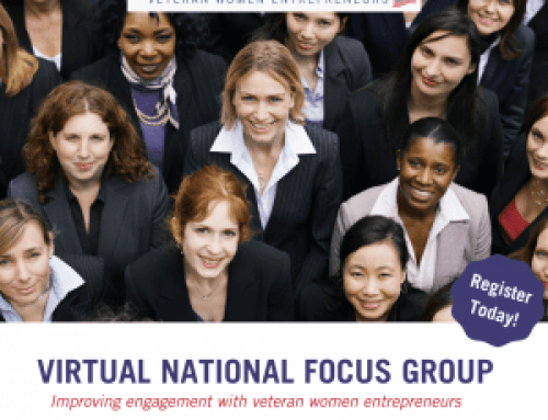Improving Engagement with Veteran Women Entrepreneurs