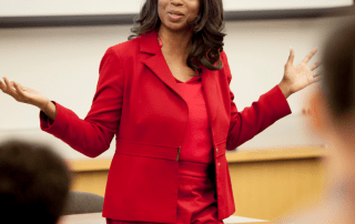 Candice L. Bledsoe, PhD. as the recipient of the 2020 UN Day Global Leadership Award, in the category of Sustainable Development Goal 4, Quality Education.