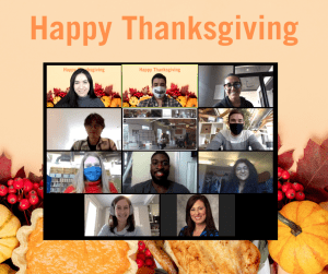 Happy Thanksgiving from the Hunt Institute for Engineering & Humanity