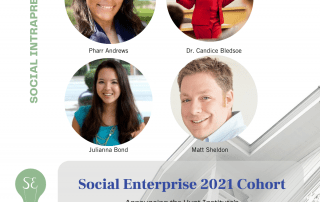 2021 Hunt Institute Social Enterprise Cohort of Intrapreneurs