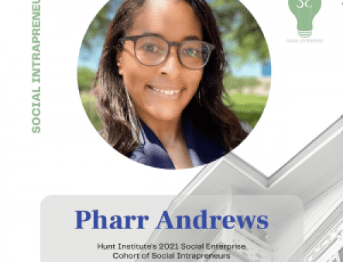Pharr Andrews, Social Enterprise 2021 Cohort Intrapreneur