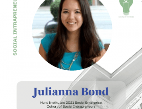 Julianna Bond, Social Enterprise 2021 Cohort Intrapreneur