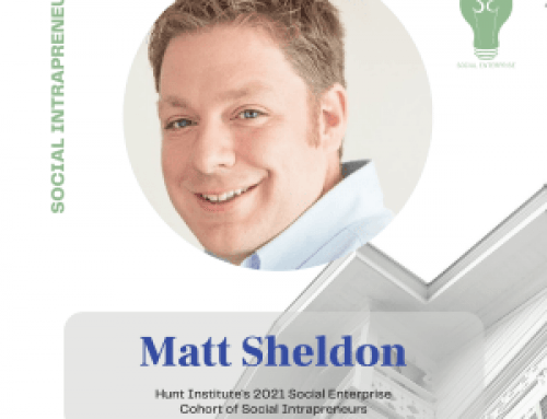 Matt Sheldon, Social Enterprise 2021 Cohort Intrapreneur