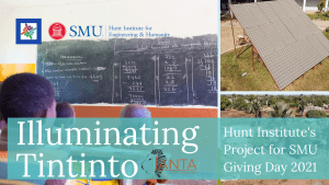 Illuminate Tintinto Hunt Institute's SMU Giving Day Project #SMUDayOne