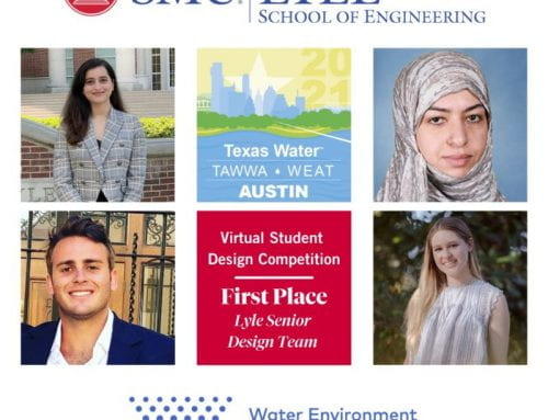 Winner of the Water Environment Association of Texas, Student Design Competition 2021