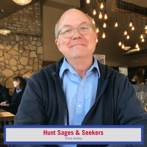 Headshot of Chris Kelley: Sages & Seekers Podcast