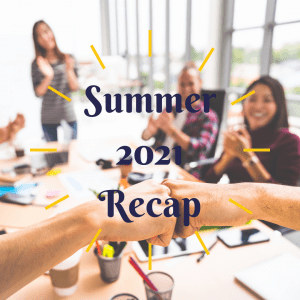 Summer 2021 Recap, Hunt Institute, Social Enterprise, ImpactNights, HunTalks, STEM Up, Janta, Valecia Harris, Scott Zuo, Mohammed Njie, Sam Borton, John Morgan, Wilkie Stevenson
