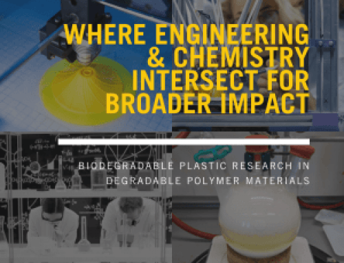 Biodegradable Plastics Research – Where Engineering & Chemistry Intersect for Broader Impact