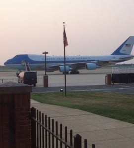 Air Force One, Andrews Air Force Base