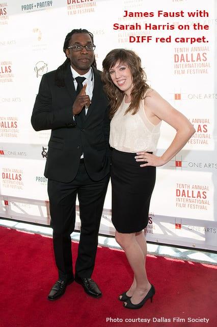 SMU Meadows film alums James Faust and Sarah Harris