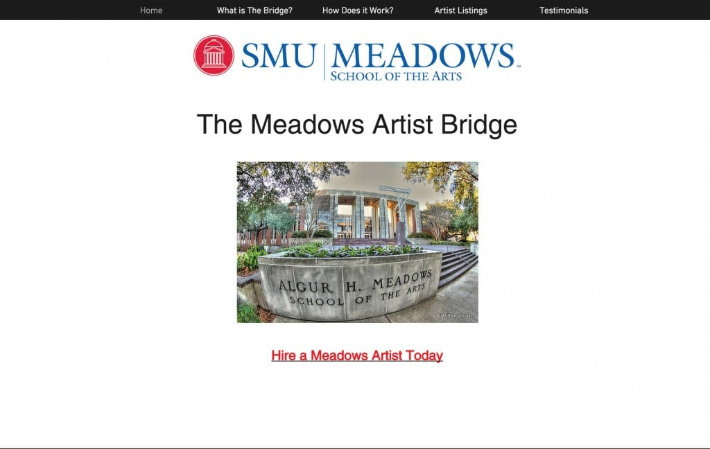 The Meadows Artist Bridge