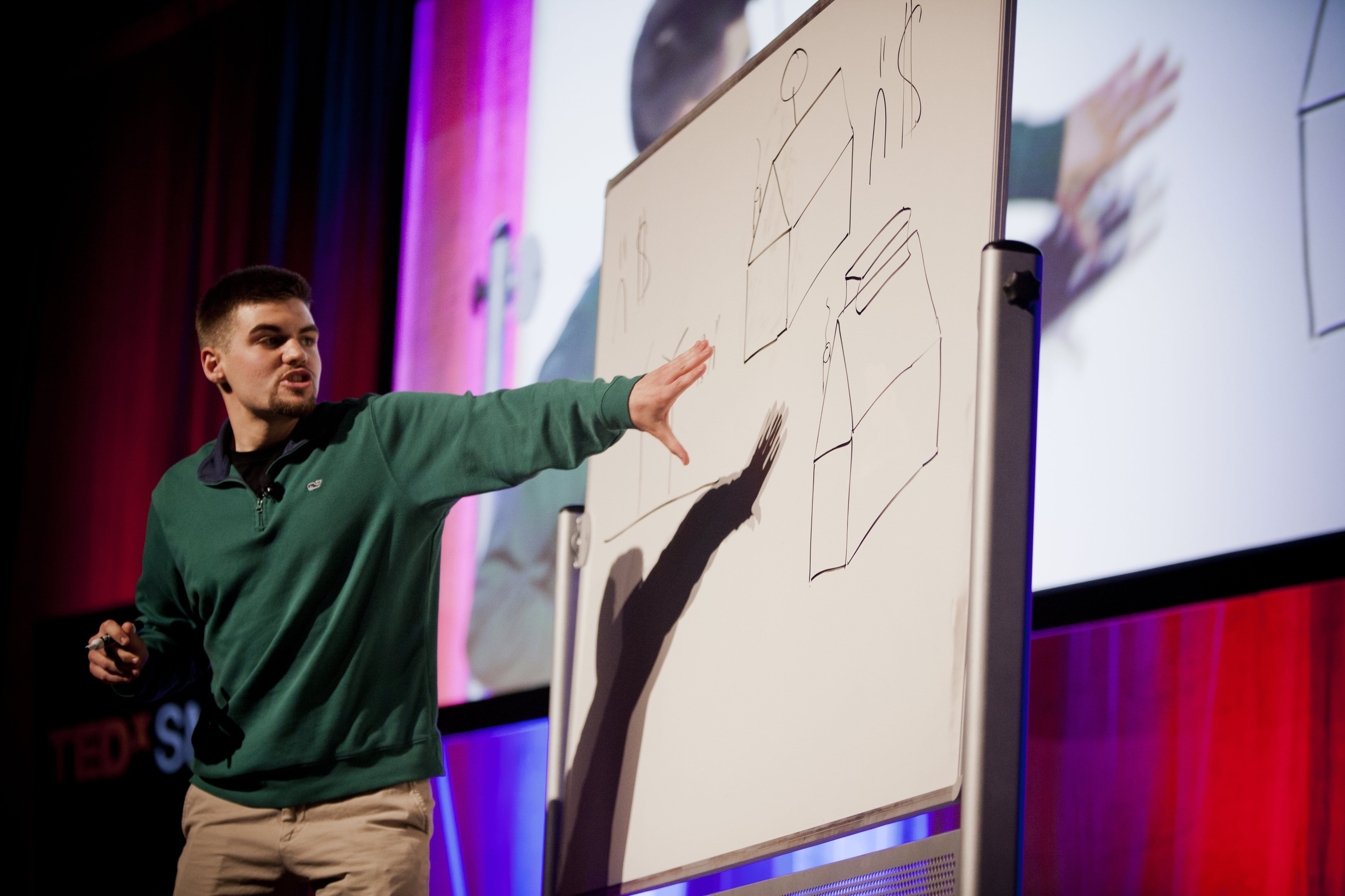 One day's TEDx talk is the next day's great invention