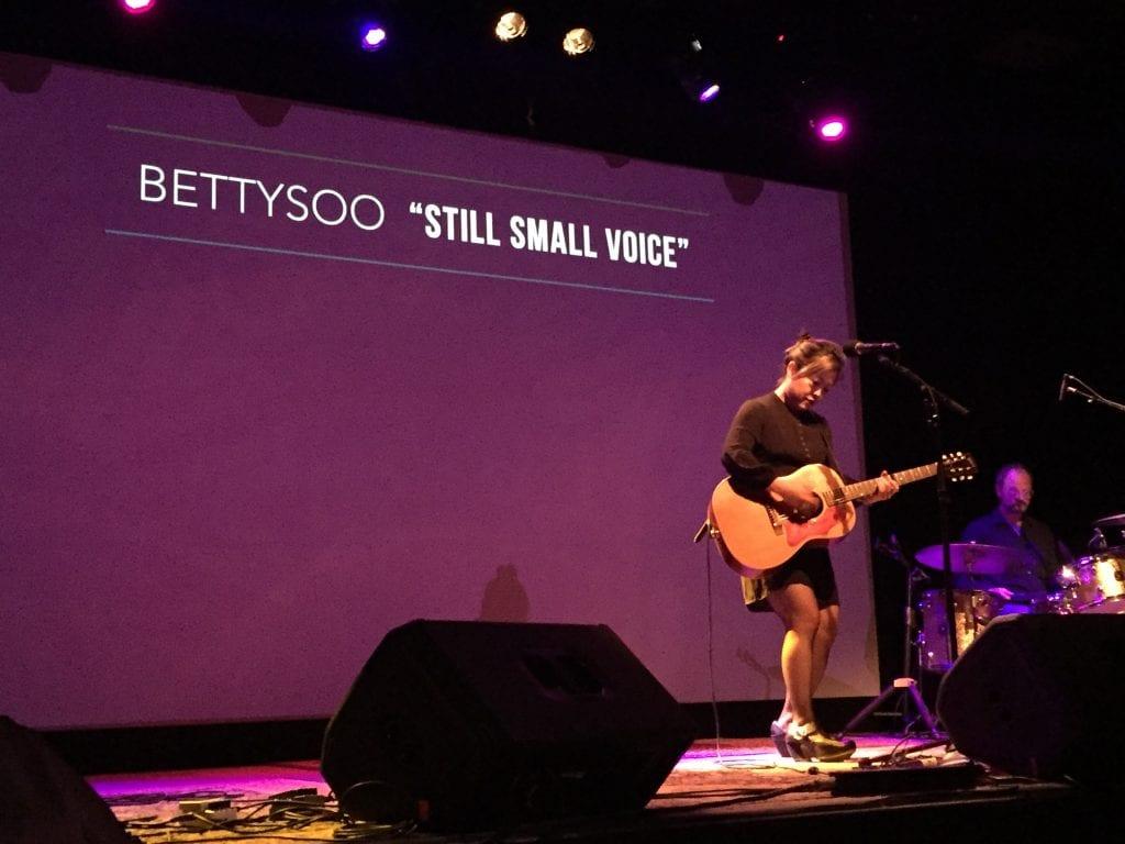 Singer-songwriter Betty Soo.
