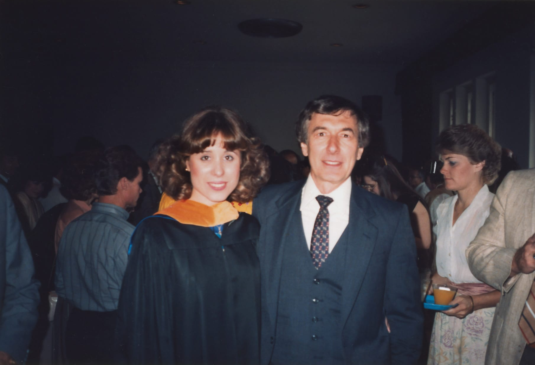 A memory submitted by Angela Meyer, Class of 1983, 1985, 1987