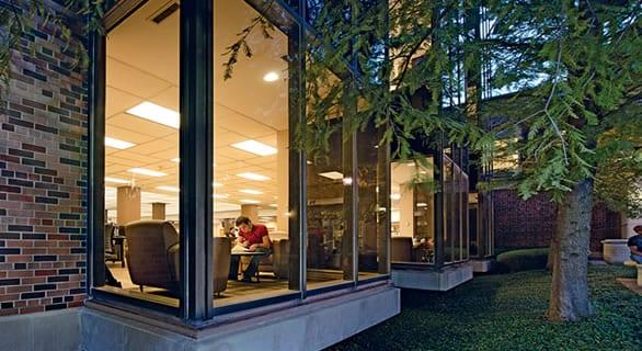 Fondren East Library (via)