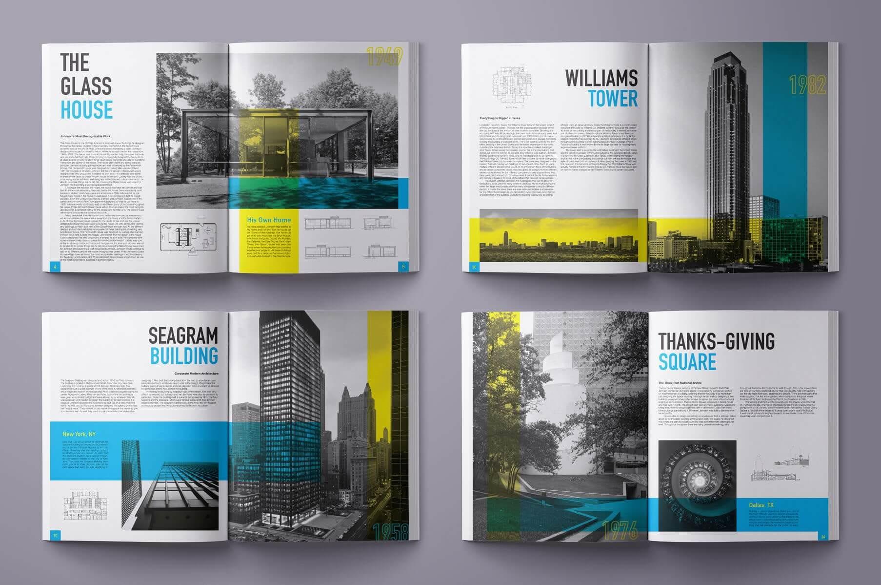PhilipJohnsonsArchitecturalWorks
