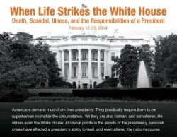 When Life Strikes the White House - Final Ad Image
