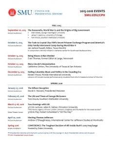 cph event schedule 2015 2016